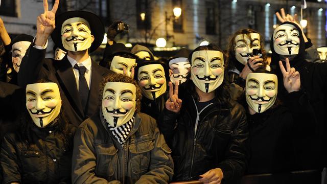 Anonymous valt Israëlische websites aan