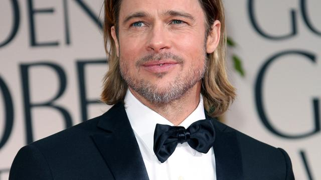 Brad Pitt neemt kinderen niet op schoot