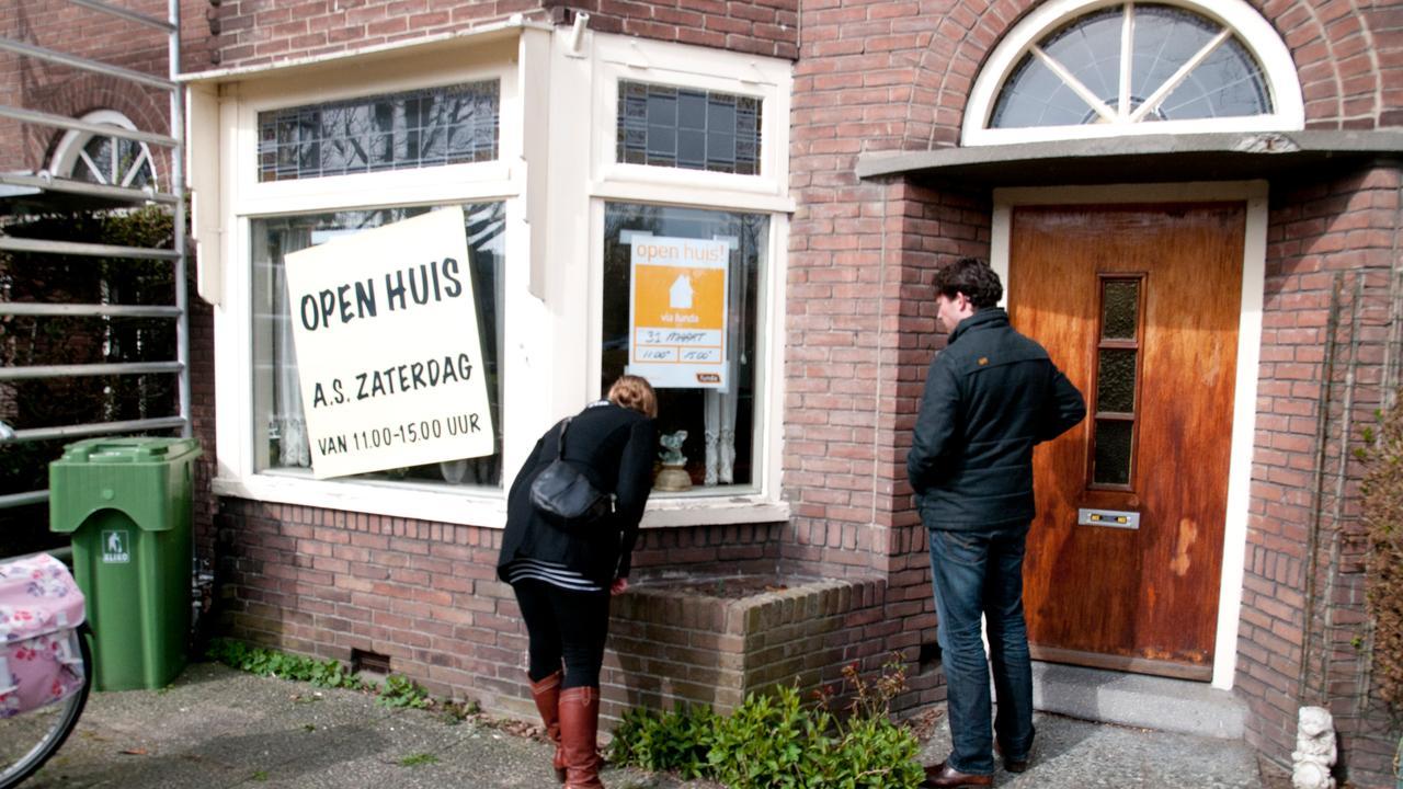 Bezoeken afgelegd op open huizen dag nu het for Open huizen dag funda