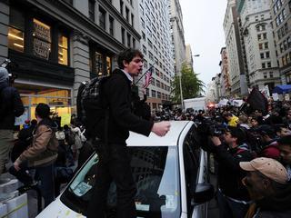 'NIeuwe betogingen bij ochtendspits Broadway'