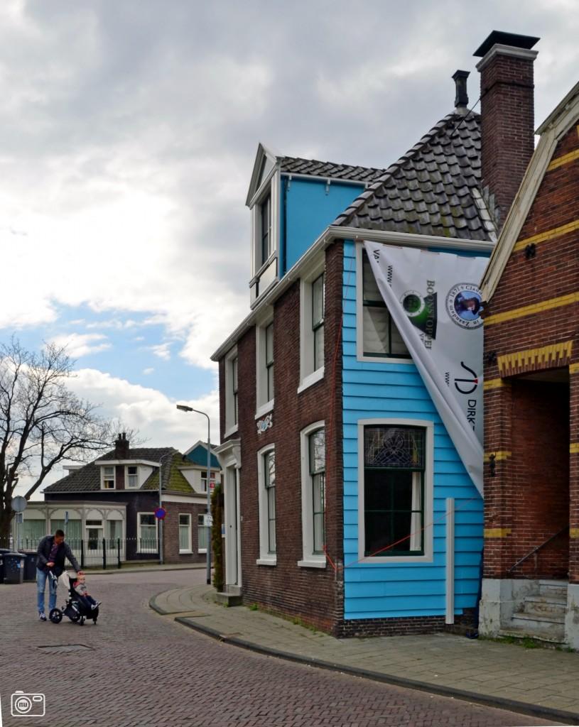 Gevel 39 blauwe huis 39 monet in zaandam weer blauw foto 449367 de laatste nieuwsfoto - Huis gevel ...