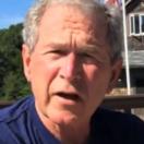 Ice bucket challenge voor George W. Bush