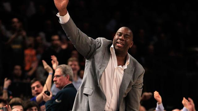 Voormalige NBA-vedette Magic Johnson koopt LA Dodgers