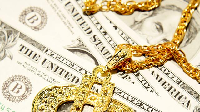 Amerikaan berooft bank van 1 dollar