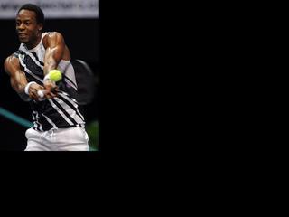 De 26-jarige Fransman heeft zich door zijn blessure af moeten melden voor het ATP-toernooi van Tokio.