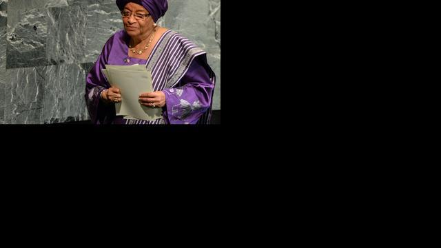 Zware kritiek op vredesicoon Sirleaf Johnson