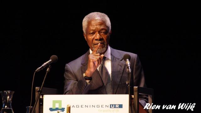 Annan roept Kenianen op niet op ICC-verdachten te stemmen