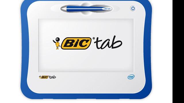 Pennenfabrikant Bic komt met educatieve tablet