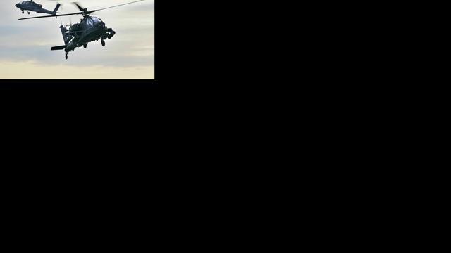 Apache-helikopters speuren mee naar overvaller