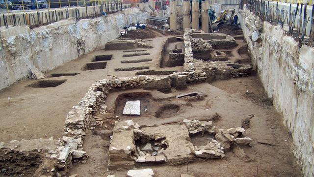Metrolijn Thessaloniki goudmijn archeologie