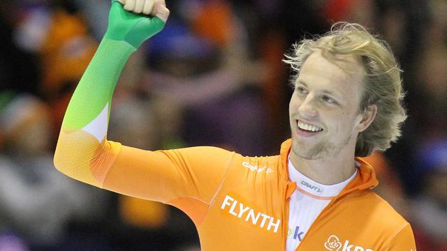 Michel Mulder snelt naar tweede plaats in Nagano