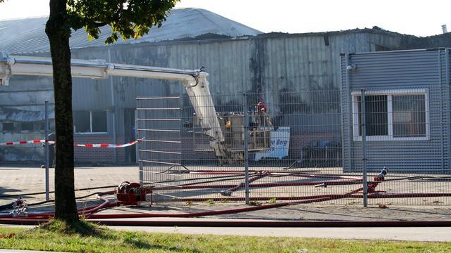 Grote brand in Brabants landbouwbedrijf