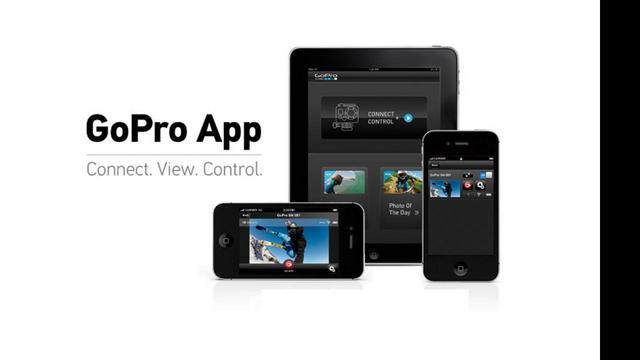 GoPro-app brengt live camerabeelden naar iOS