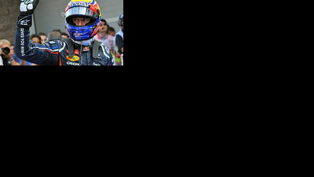 Webber verovert pole position in Zuid-Korea