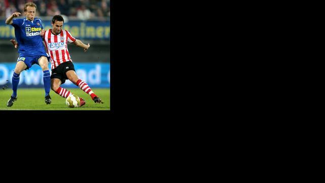 Sparta rukt op naar tweede plaats Jupiler League