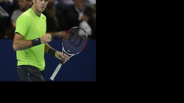 Del Potro verzekert zich van World Tour Finals