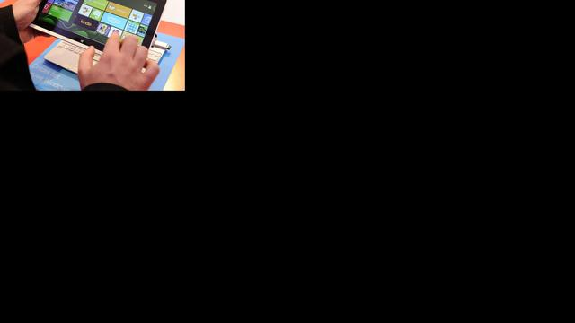 'Verkopen Windows 8 vallen tegen'