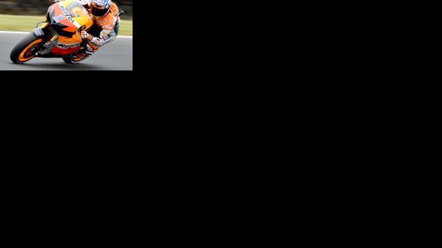 Stoner op pole position in MotoGP Australië