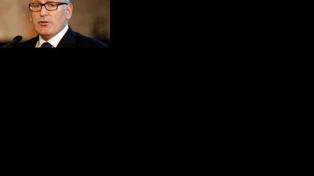 Timmermans uit zorgen aan ambassadeur Israël