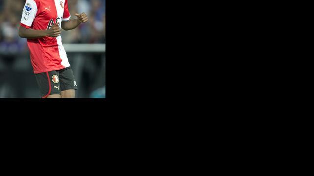 Feyenoorder Kongolo pas na winterstop weer inzetbaar