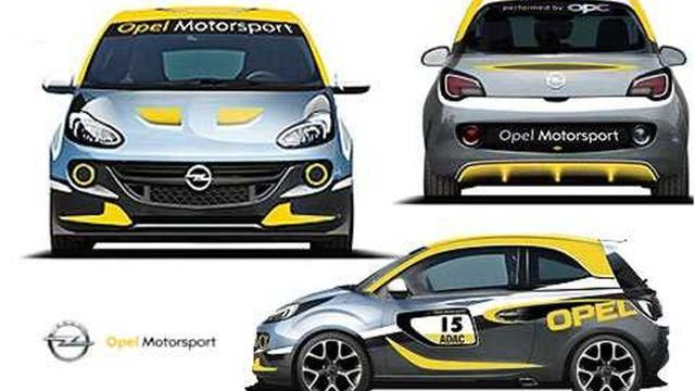 Opel ontwikkelt Adam Rally Cup