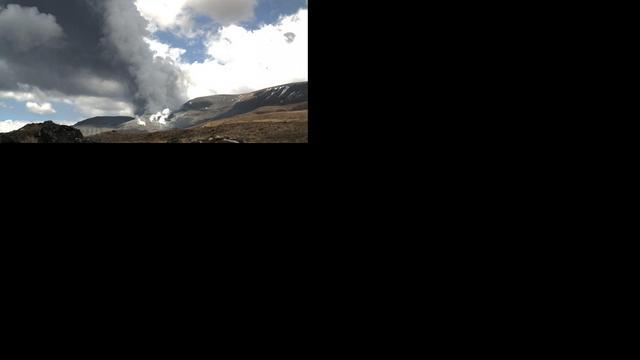 Vulkaanuitbarsting Nieuw-Zeeland