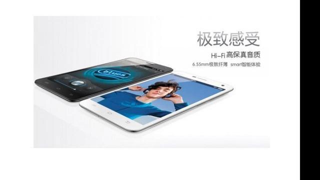Chinees bedrijf presenteert slankste smartphone