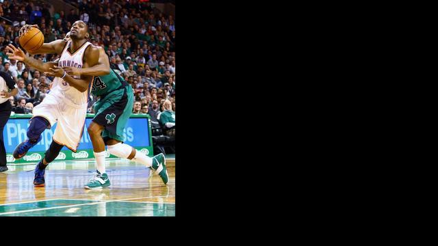 Celtics verslaan Thunder, Knicks verliezen weer
