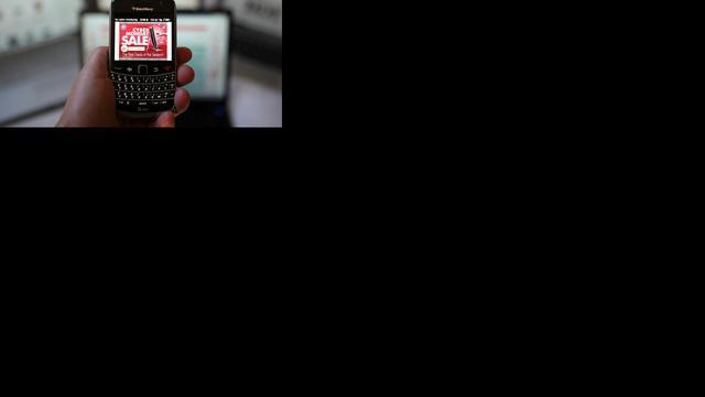 Veel meer Amerikanen shoppen mobiel met Black Friday