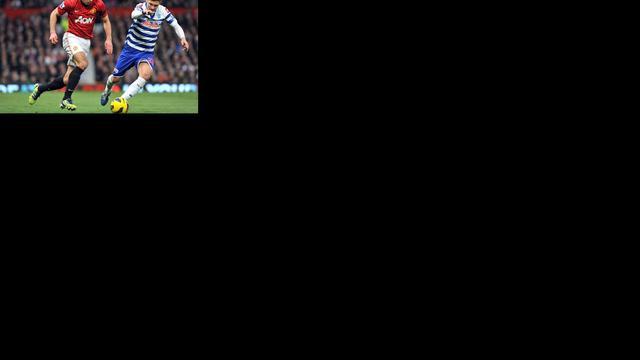 ManUnited klopt QPR, Arsenal gelijk, WBA verrassend derde