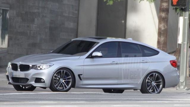 BMW 3-serie GT naakt gespot