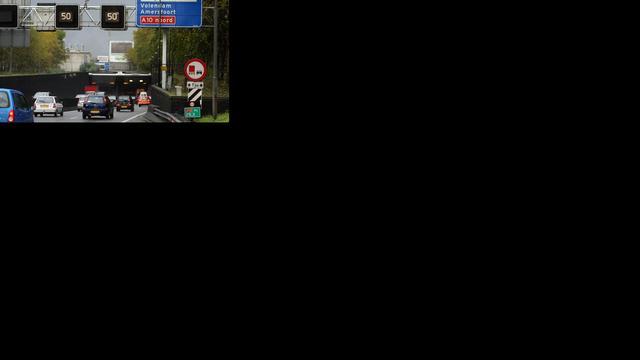 Tunnelbuis Coentunnel weer open na ongeval