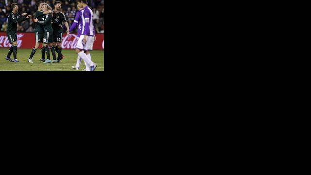 Real Madrid boekt benauwde overwinning in Valladolid