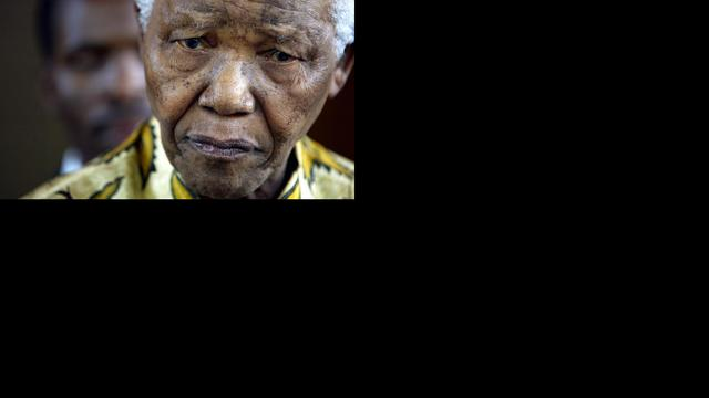 Galstenen verwijderd bij Mandela