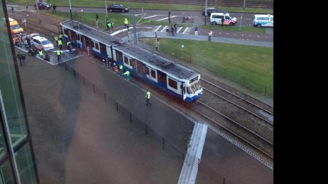 Dodelijk ongeval metro Amsterdam
