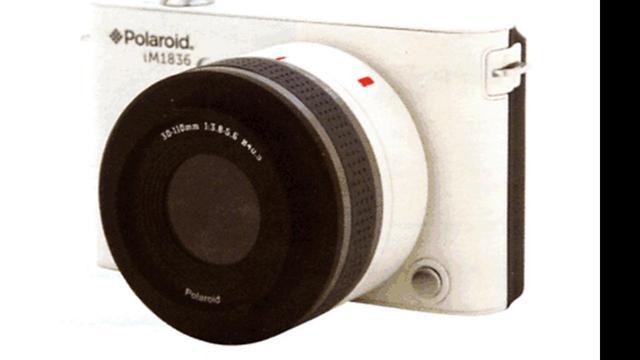 Polaroid bevestigt systeemcamera met Android