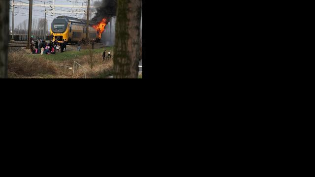 Drietal niet langer verdacht van veroorzaken treinbrand