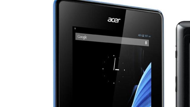 Acer komt met goedkope Androidtablet