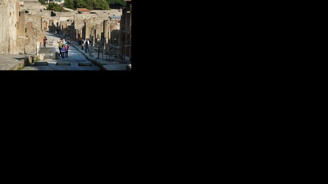 'Inwoners van Pompeï plasten op eerste verdieping'