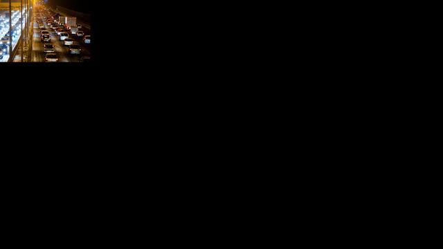 Spitsstrook A12 tijdelijk dag en nacht open