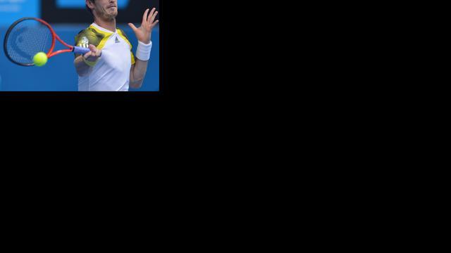 Murray eenvoudig naar halve finale in Melbourne