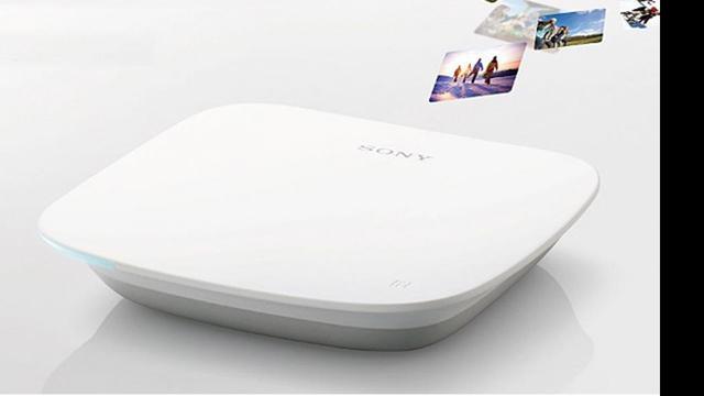 Sony combineert externe smartphone-harddisk met mediaspeler