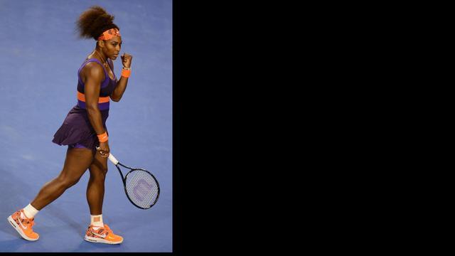 Serena Williams en Federer overtuigend verder