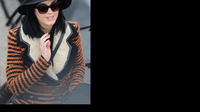 Katy Perry en Eva Longoria bij inauguratie Obama