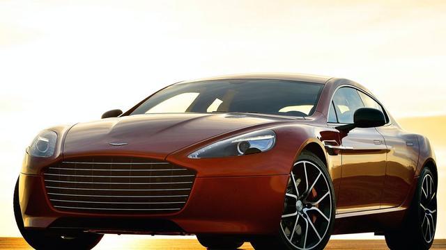 Aston Martin Rapide S uit de doeken