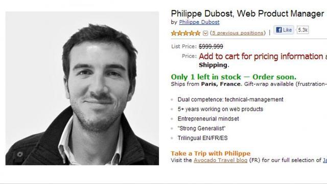 Werkzoekende gebruikt Amazon als CV