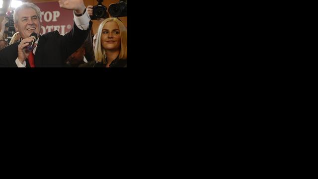 Zeman wordt de nieuwe president van Tsjechië