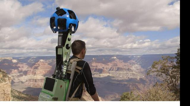 Google maakt Street View-beelden van Grand Canyon