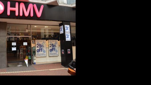 'Muziekwinkel HMV schrapt 400 banen'