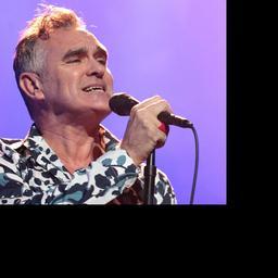 Morrissey geeft concert in Utrecht